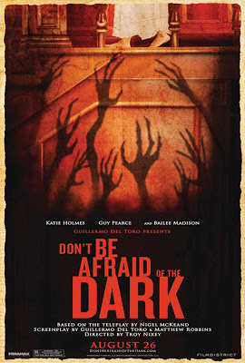 Don't be afraid of the dark movie review poster