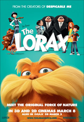 Lorax 2012 Animation Film Movie Poster
