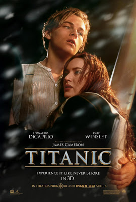 Titanic 3D 2012 film movie poster