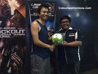 Laser Warzone IOI Mall Puchong Lockout Laser Tag Game with Nuffnang bloggers