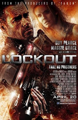 Lockout 2012 film movie poster