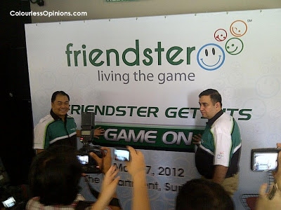 Friendster Relaunch Press Conference 2012 Malaysia Ganesh Kumar Bangah & Nikolai Galicia