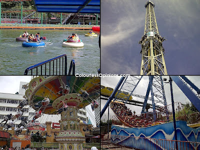 Genting Highlands outdoor theme park rides