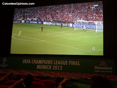 Heineken Legendary Night UEFA Champions League Final 2012 @ GSC Signature Gardens KL Malaysia