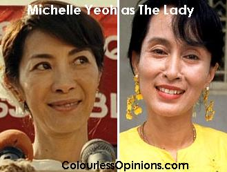 Michelle Yeoh as The Lady Aung San Suu Kyi