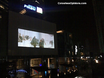 PIKOM ICT Mall Capsquare Grand Launch Outdoor Cinema