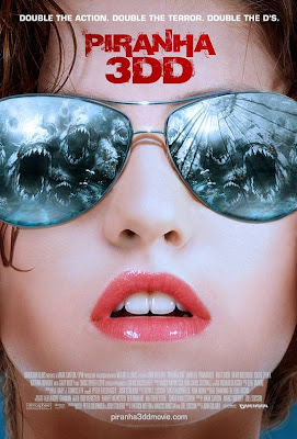 Piranha 3DD 2012 film movie poster