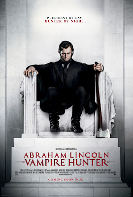Abraham Lincoln Vampire Hunter 2012 film movie poster