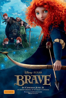 Brave 2012 film movie poster