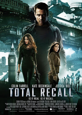 Total Recall 2012 film movie poster