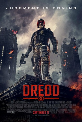 Dredd 3D 2012 film movie poster