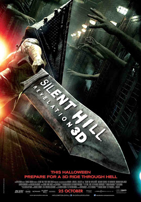 Silent Hill Revelation 3D film movie poster large