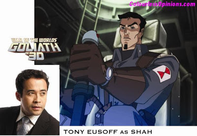 War of the Worlds Goliath Tony Eusoff as Raja Iskandar Shah