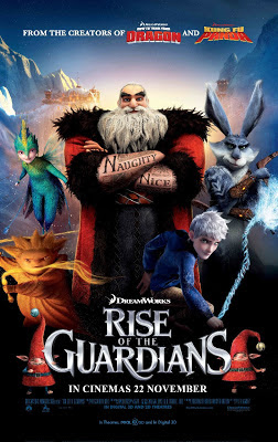 Rise of the Guardians 2012 film movie poster large
