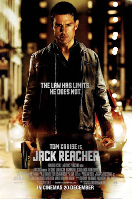 Jack Reacher 2012 film large movie poster tom cruise
