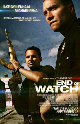 End of Watch film movie poster