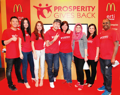 McDonald's Prosperity Gives Back Press Conference