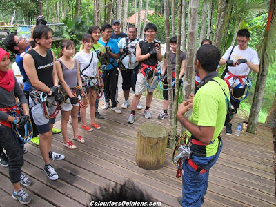 Skytrex Shah Alam Malaysia Extreme Challenge Briefing