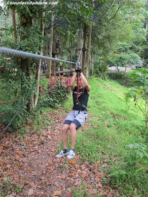 Skytrex Shah Alam Malaysia Extreme Challenge mini flying fox