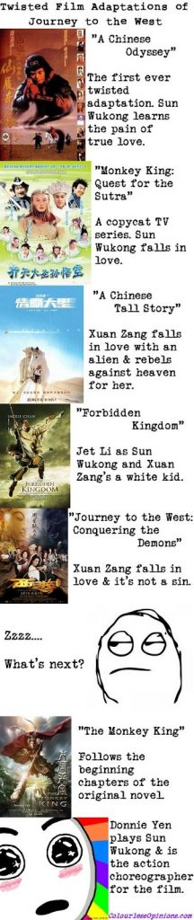 Journey to the West twisted film movie adaptations posters