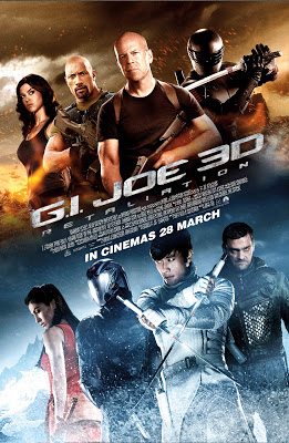 G.I. Joe Retaliation 2013 film large movie poster