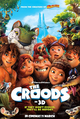 The Croods 3D 2013 animated film large movie poster