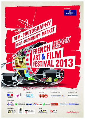 FAFF French Art & Film Festival 2013 MAIN POSTER