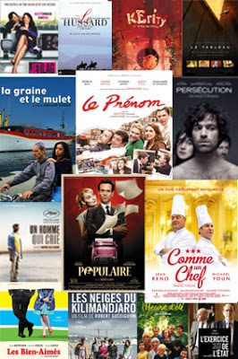Films Movies Poster collage FAFF French Art & Film Festival 2013