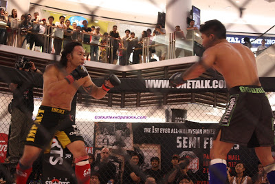 Allen Chong  vs. Zeus Lim in MIMMA semi finals paradigm