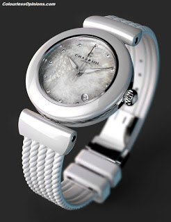 CHARRIOL Lady AEL Watch White Ceramic