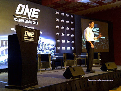 Rich Franklin ONE Asia MMA Summit 2013 Singapore ONE FC