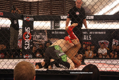 Sharma Chandran's triangle choke vs. Chew Chee Hui in MIMMA semi finals paradigm