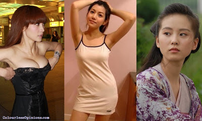 Ada Liu, Michelle Chen & Liu Shi Shi are the 3 main actresses in Badges of Fury