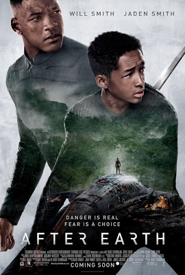 After Earth 2013 film large movie poster malaysia