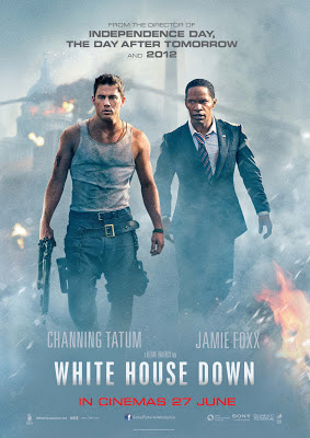 White House Down 2013 film large movie poster malaysia