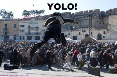 World War Z YOLO meme