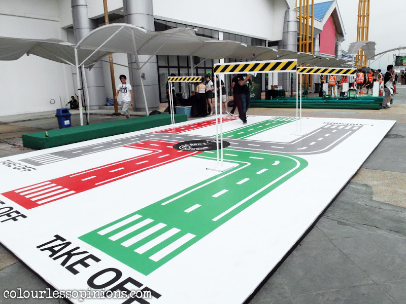 Game platforms at at Carlsberg Where's The Party 2013 (WTP IV) in Malaysia