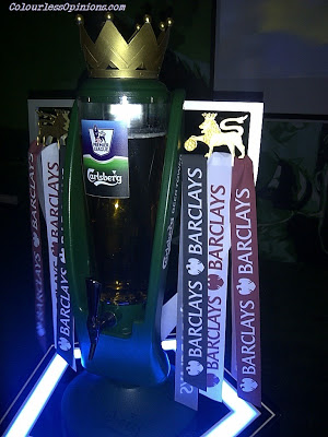 Barclays Premier League EPL Carlsberg beer tower