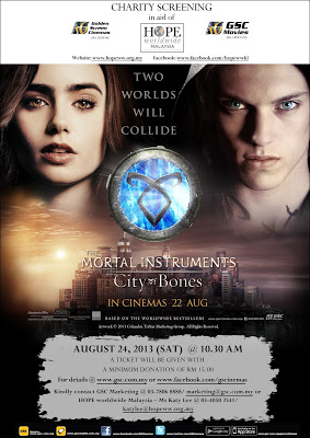 GSC & HOPE donation drive with Mortal Instruments