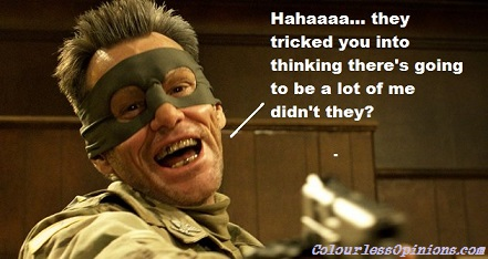 Jim Carrey as Colonel Stars & Stripes in Kick-Ass 2 meme