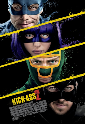 Kick Ass 2 movie poster large malaysia