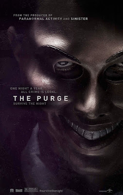 The Purge movie poster large malaysia
