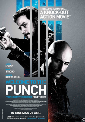 Welcome to the Punch movie poster large malaysia