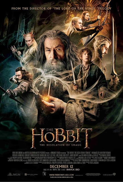 Hobbit 2 Desolation of Smaug official poster international - large malaysia