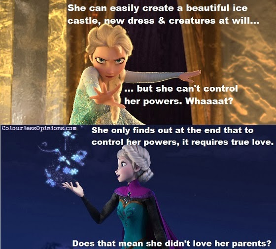 Frozen movie stills - Elsa Snow Queen meme