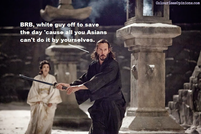 Keanu Reeves as Kai in 47 Ronin movie still meme