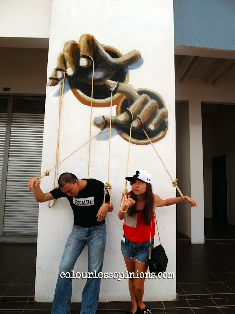 Artsphere 208ty @ The Atmosphere Seri Kembangan - 3D Street Art Murals Photo