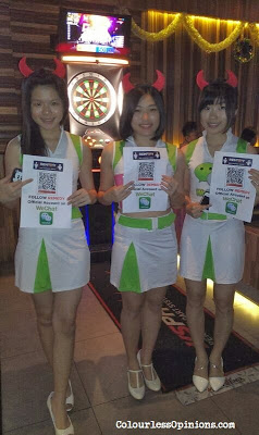 WeChat girls promoters at Remedy+ scott garden xmas party 2013