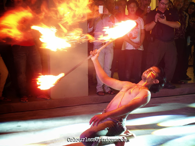 Fire Eaters @ Jaya One 2014 New Year Countdown