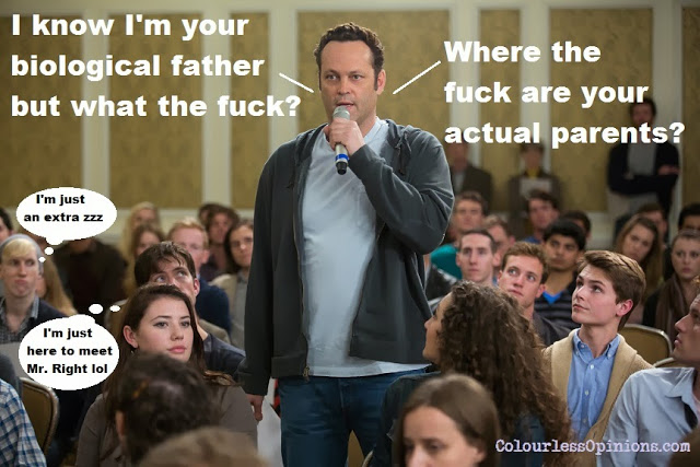 Vince Vaughn in Delivery Man movie still meme